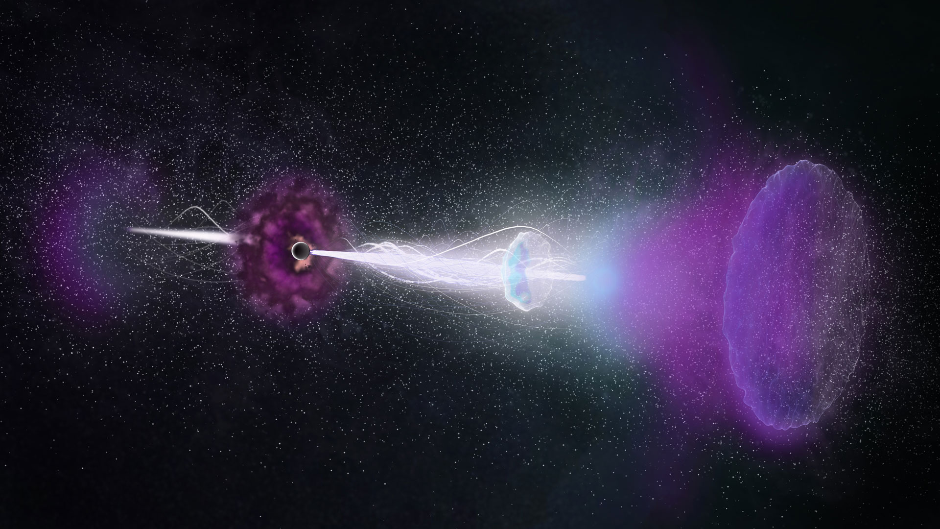 Astronomers Study Enduring Radio Rebound From Gamma Ray Burst 161219b