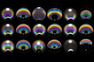 Engineers Make Clear Droplets Produce Colors