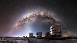 Entire Arc of Milky Way VLT