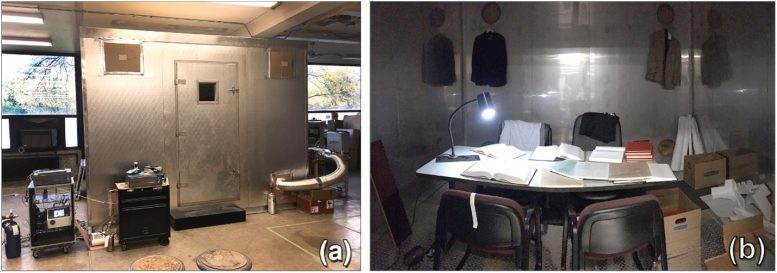 Environmental Test Chamber for Air Purifier Experiments