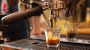 Espresso Machine Pouring