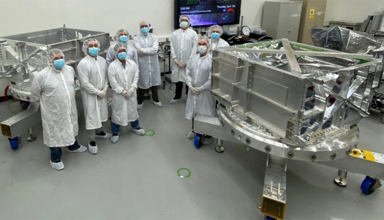Europa Clipper Engineers and Technicians