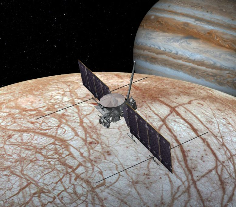 Europa Clipper Spacecraft