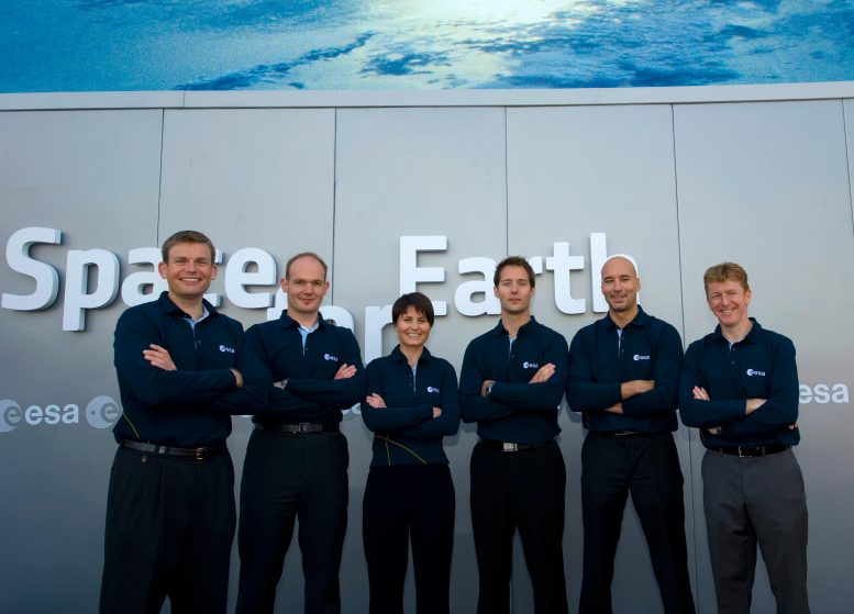 European Astronaut Corps New Recruits 2009