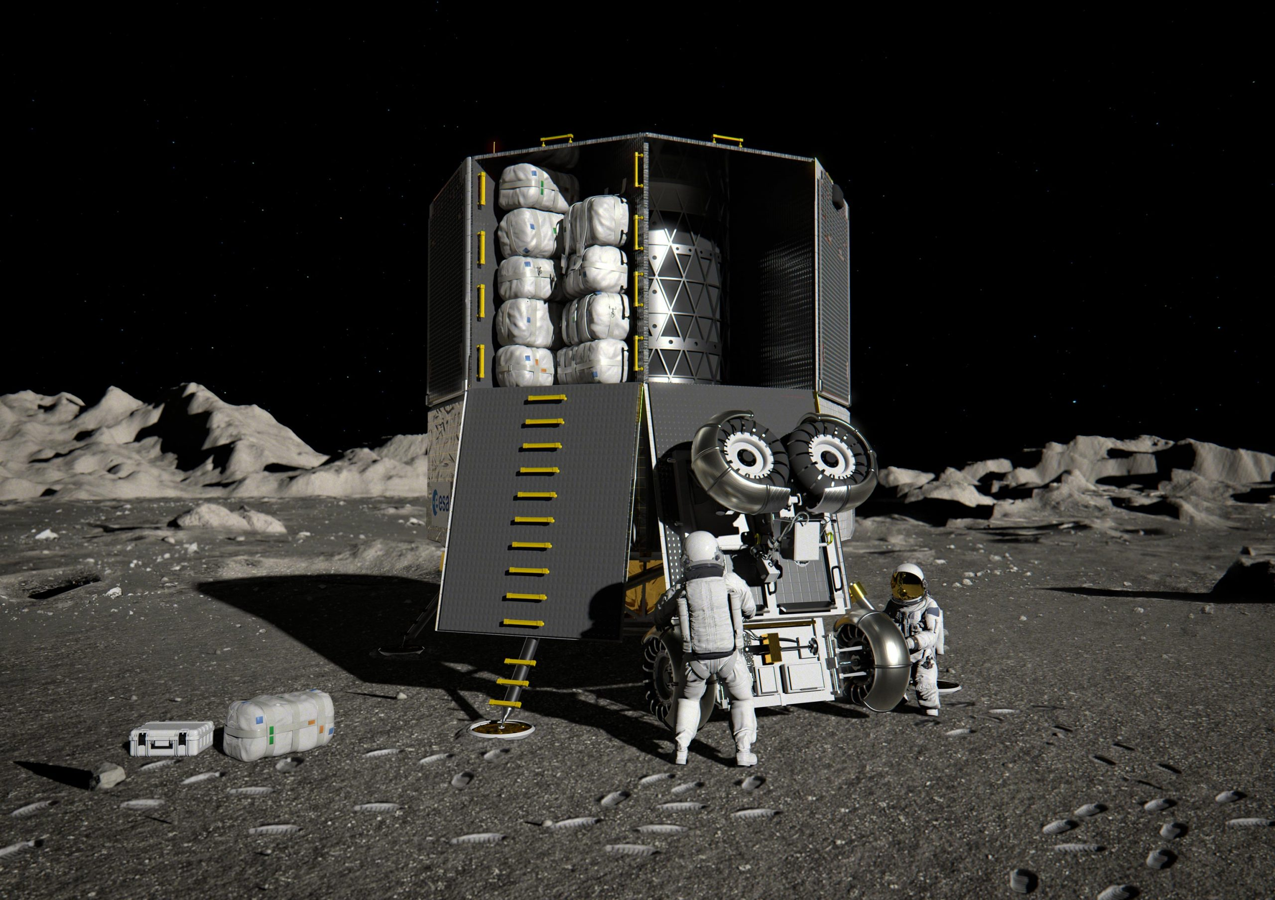Get Your Ticket to the Moon: Europe�s First Ever Lunar Lander - SciTechDaily