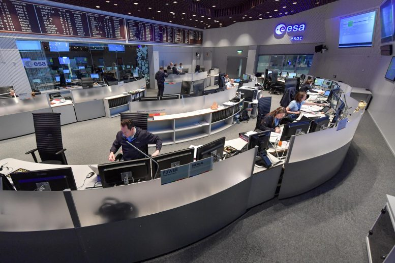 European Space Operations Centre in Darmstadt, Germany