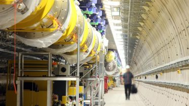 European XFEL Accelerator Tunnel