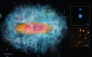 Evidence That Some Early Supermassive Black Holes Formed Directly from the Collapse of a Gas Cloud