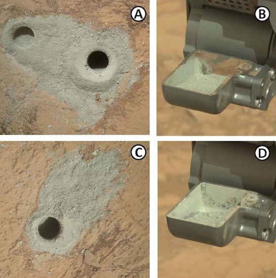Evidence of An Ancient Freshwater Lake on Mars