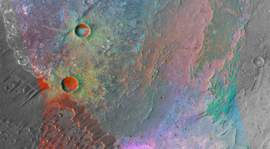 Evidence of Granite on Mars Discovered