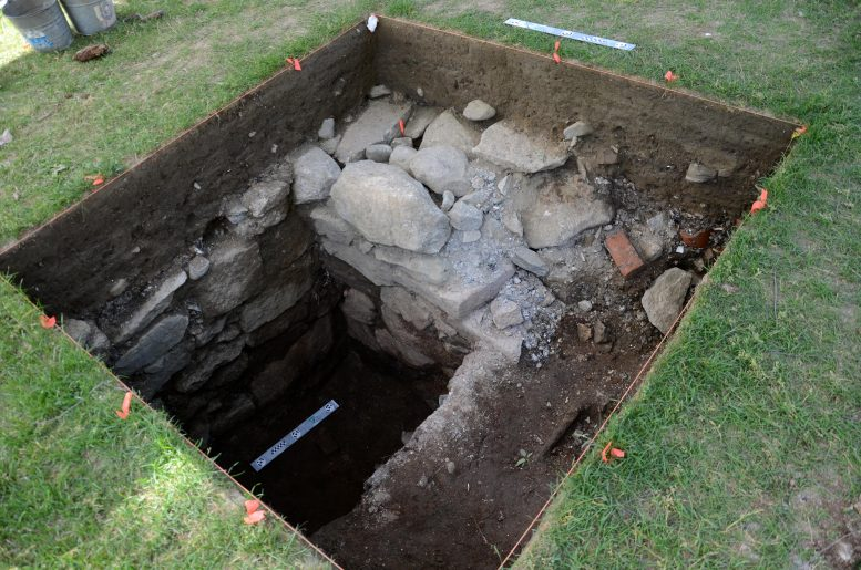 Excavated Privy