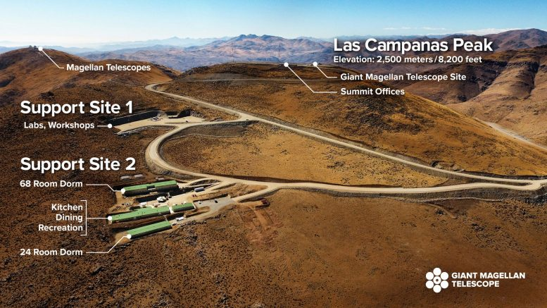 Excavation Begins Giant Magellan Telescope