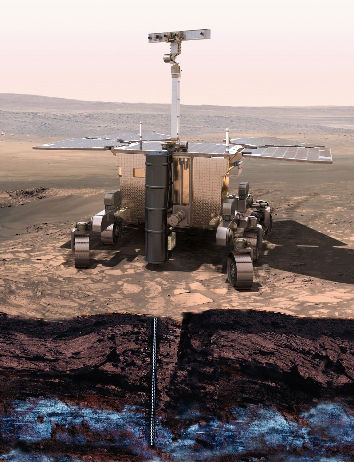 Astrophysicist Investigates: Possibility of Life Below the Surface of Mars