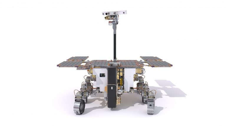 ExoMars Rover Front View