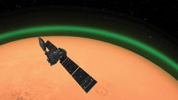 ExoMars Trace Gas Orbiter Spots Daylight Green Oxygen at Mars