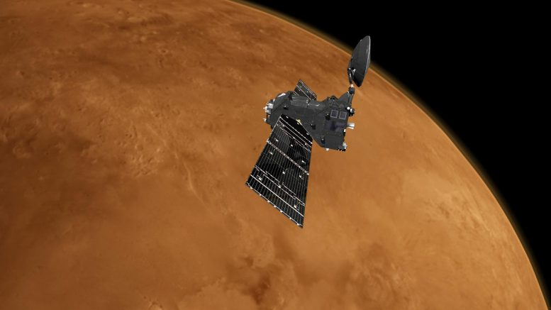 ExoMars Trace Gas Orbiter at Mars