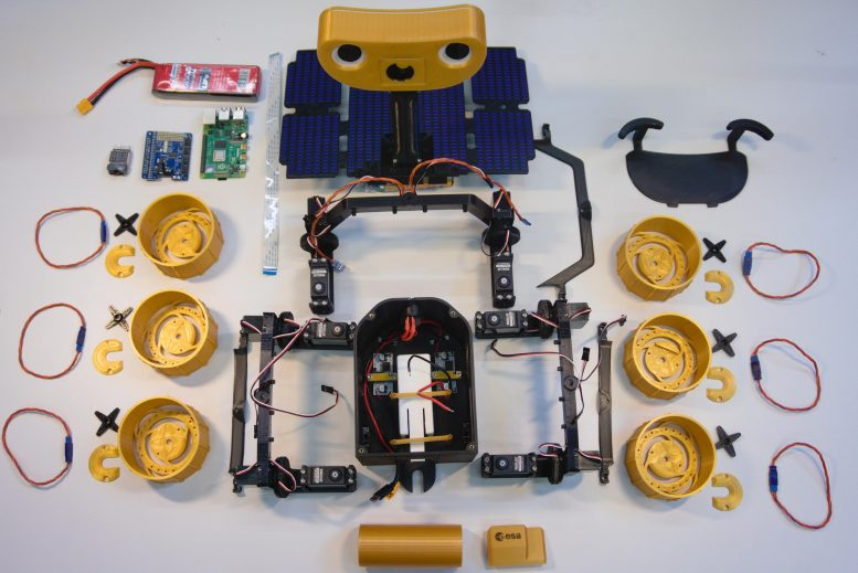 ExoMy Component Parts