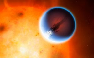 Exoplanet HD 189733b Has 5,400 mph Winds