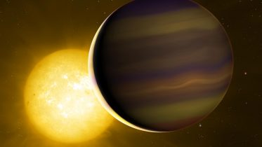 """""""Chemical Fingerprint"""" of First Transiting Exoplanet Reveals Its Distant Birthplace"""