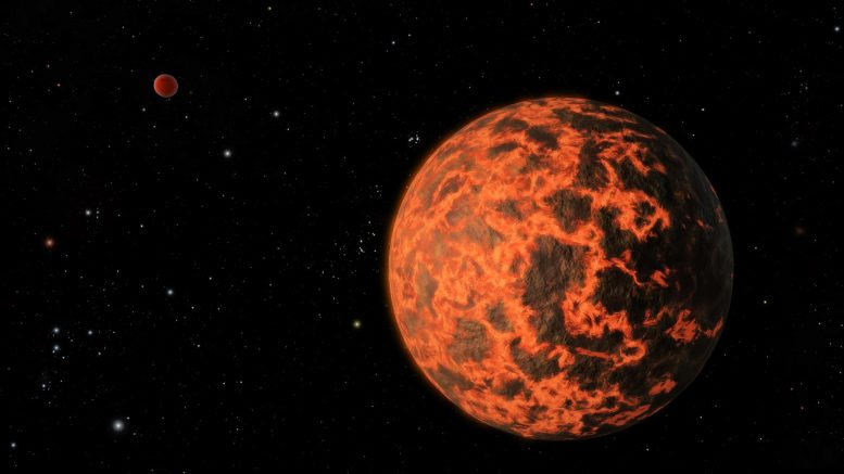Exoplanet TOI-849b Planet Remnant
