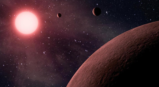 Exoplanets May Have Burned Away Chances for Life