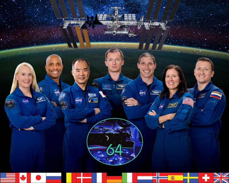 Expanded Expedition 64 Crew
