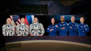 Expedition 64 and SpaceX Crew 1 Astronauts