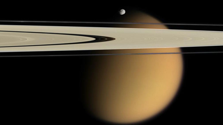 Extreme Methane Rainstorms Shape Titan's Icy Surface
