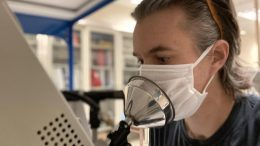 Facemasks Block Expired Particles, Despite Leakage