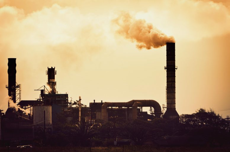 Factory Carbon Dioxide Pollution