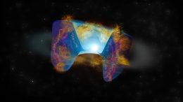 Fast-Moving Debris From a Supernova Explosion