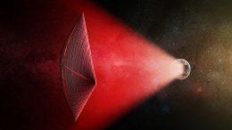 Fast Radio Bursts from Extragalactic Light Sails