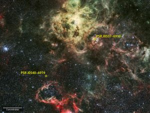 Fermi Detects First Gamma-ray Pulsar in Another Galaxy