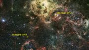 Fermi Satellite Detects Gamma-ray Pulsar in Another Galaxy
