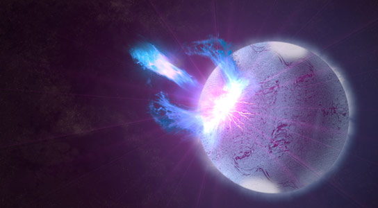 Fermi Discovers Signs of Starquakes in Magnetar Storm