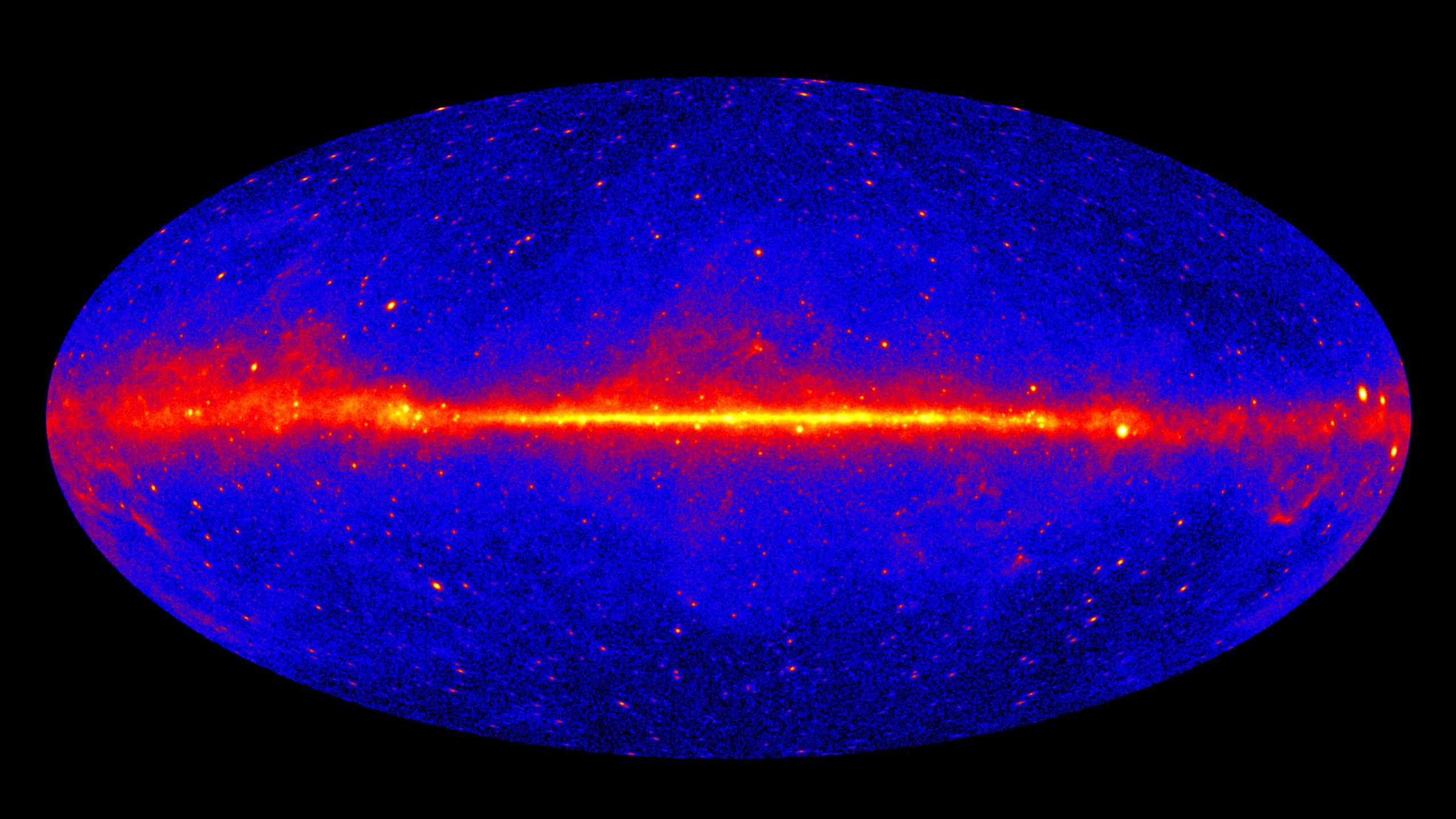 """Mysterious """"Empty Sky"""" Gamma-Ray Puzzle Solved – May Lead Astrophysicists To Unravel Dark Matter - SciTechDaily"""