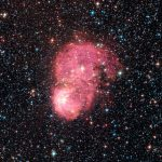 Festive Nebulae Light Up Milky Way Galaxy Satellite
