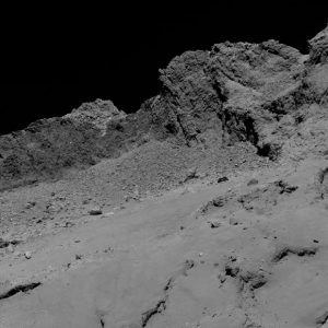 Final Descent Images from Rosetta Spacecraft