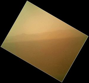 First Color Image of Mars Landscape