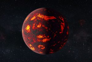 First Detection of a Planet with Super-Earth Atmosphere