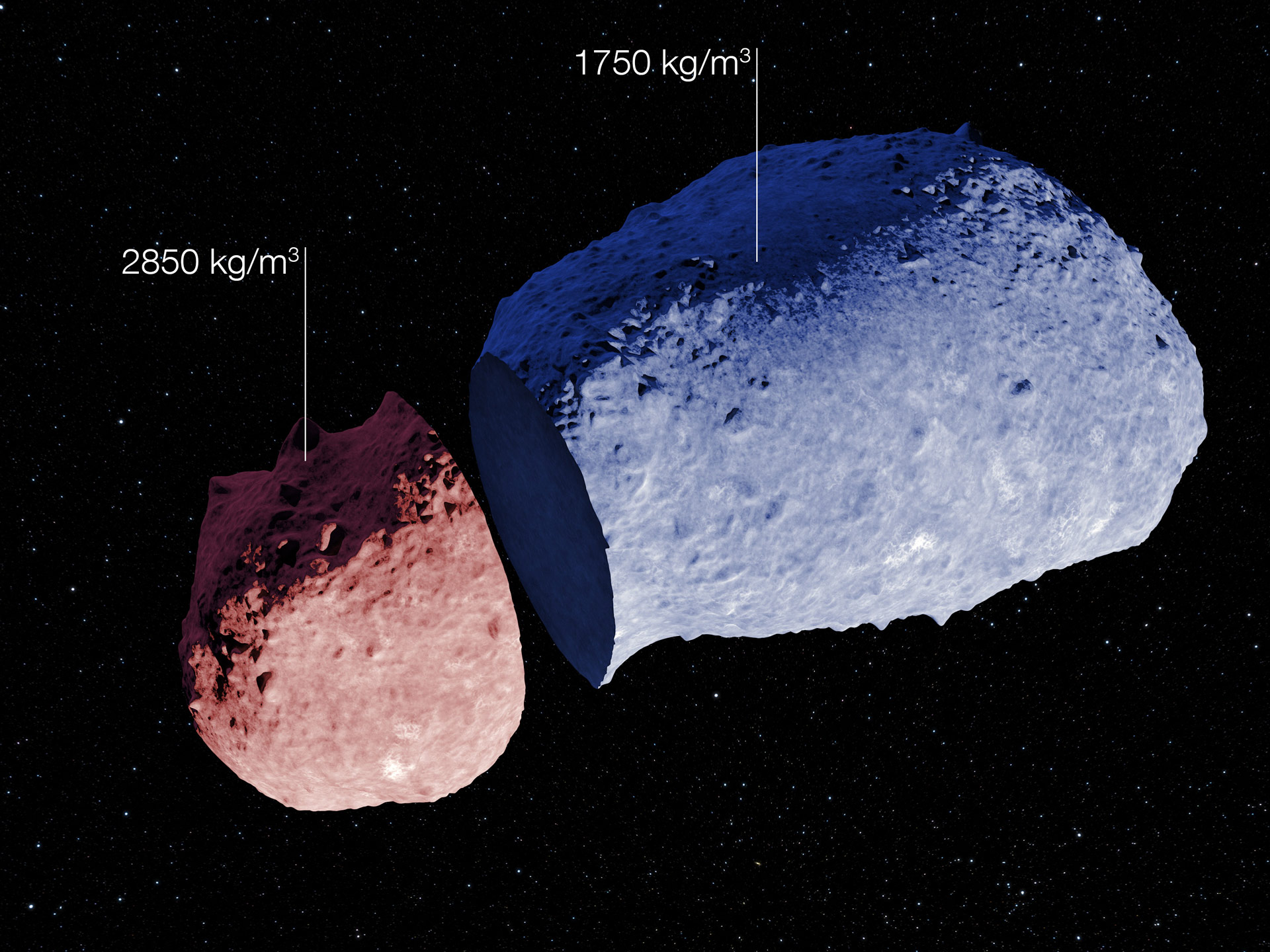 The First Evidence That Asteroids Can Have A Highly Varied