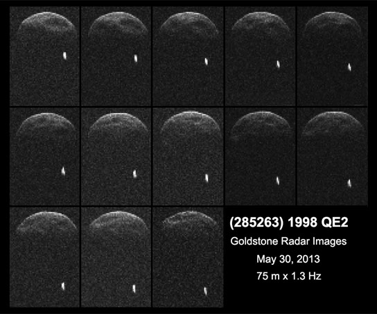 First Images of Asteroid 1998 QE2