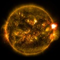First Notable Solar Flare of 2015