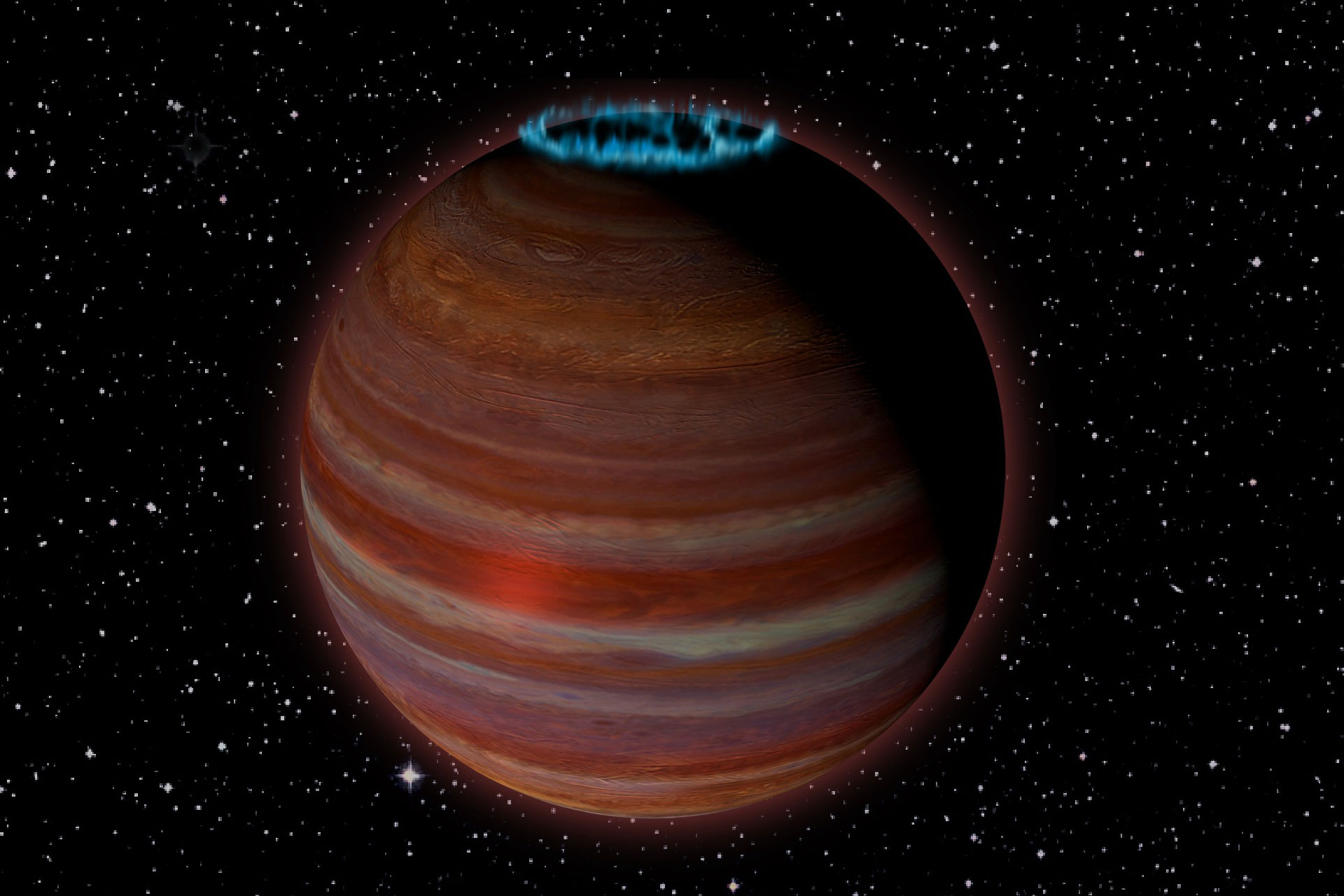 Bizarre Rogue 'Planet' with Incredible Auroras Puzzles Scientists