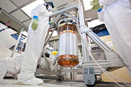 First Results from LUX Dark Matter Detector