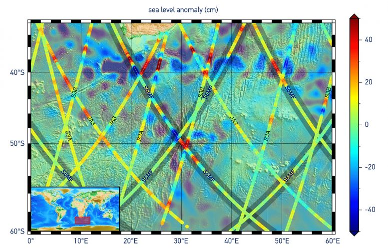 First Sea-Level Height Results From Copernicus Sentinel-6