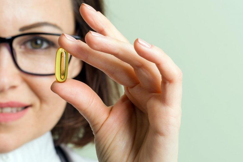Fish Oil Supplement Capsule