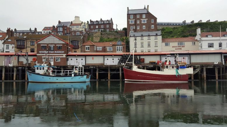 Fishing Boats in Whitby, North Yorkshire