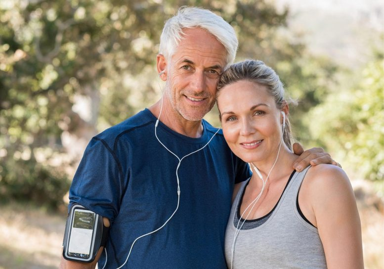Fit Mature Couple Healthy Lifestyle