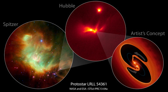 Flashes-in-a-Suspected-Binary-Protostar